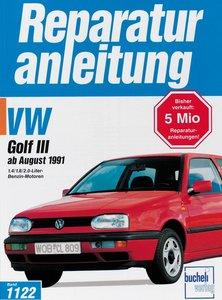 VW Golf III ab August 1991
