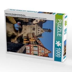 Malerwinkel Marktbreit Unterfranken 1000 Teile Puzzle hoch