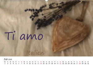 Ich liebe Dich (Wandkalender 2019 DIN A2 quer)