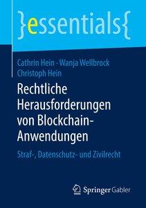 Rechtliche Herausforderungen von Blockchain-Anwendungen