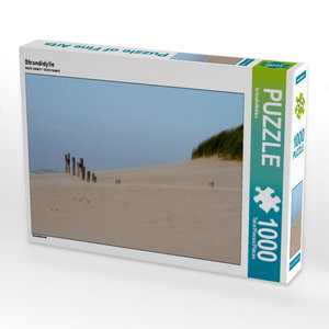 Strandidylle 1000 Teile Puzzle quer