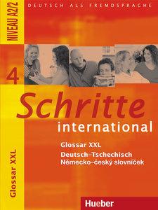 Schritte international 4. Glossar XXL Deutsch - Tschechisch