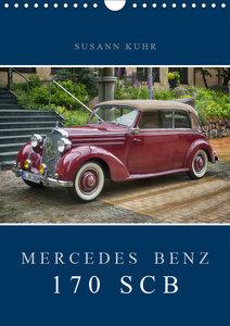 Mercedes Benz 170 SCB (Wandkalender 2019 DIN A4 hoch)