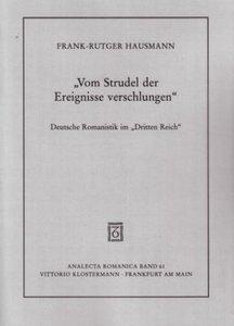 """""""Vom Strudel der Ereignisse verschlungen"""""""
