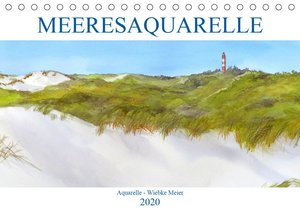 MEERESAQUARELLE (Tischkalender 2020 DIN A5 quer)