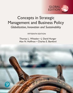 Concepts in Strategic Management and Business Policy: Globalizat