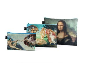 MUSEUM Zip Pockets - Michelangelo, Da Vinci
