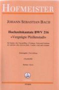 Hochzeitskantate BWV 216, Part