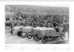 Berliner Autorennen - Geschwindigkeit und Strecke (Wandkalender