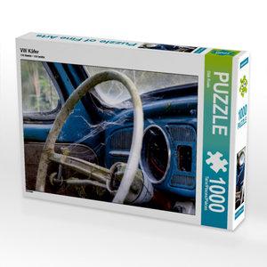 VW Käfer 1000 Teile Puzzle quer