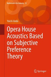 Opera House Acoustics Based on Subjective Preference Theory