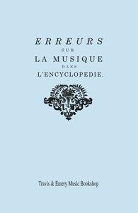 Erreurs sur la musique dans l'Encyclopédie [de J.J. Rousseau]