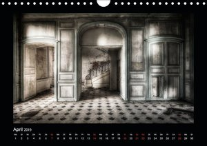 Lost Places - verlassene Orte vergangener Glanz (Wandkalender 20