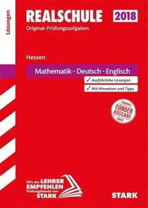 Abschlussprüfung Realschule Hessen - Mathematik, Deutsch, Englis