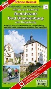Mittleres Saaletal, Rudolstadt, Bad Blankenburg und Umgebung 1 :