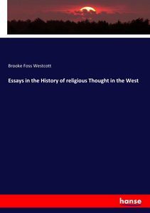 Essays in the History of religious Thought in the West