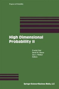 High Dimensional Probability II