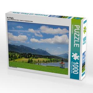CALVENDO Puzzle Im Allgäu 1000 Teile Lege-Größe 64 x 48 cm Foto-