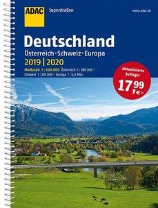 ADAC Superstraßen Deutschland, Österreich, Schweiz & Europa 2019