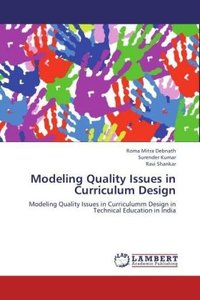 Modeling Quality Issues in Curriculum Design