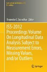 ISS-2012 Proceedings Volume On Longitudinal Data Analysis Subjec