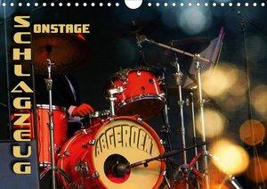 Schlagzeug onstage - abgerockt (Wandkalender 2020 DIN A4 quer)