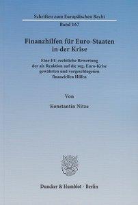 Finanzhilfen für Euro-Staaten in der Krise