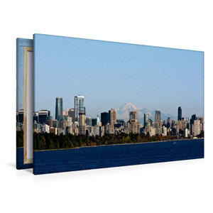 Premium Textil-Leinwand 120 cm x 80 cm quer Vancouver