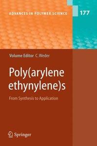 Poly Arylene Ethynylenes