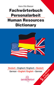 Fachwörterbuch Personalarbeit - Human Resources Dictionary
