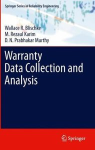 Warranty Data Collection and Analysis
