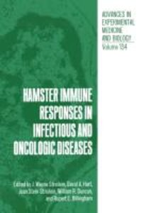 Hamster Immune Responses in Infectious and Oncologic Diseases