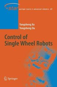 Control of Single Wheel Robots