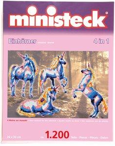 Ministeck Einhörner 4 in1 1.200 Teile