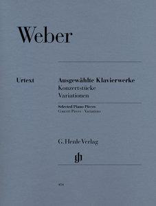 Ausgewählte Klavierwerke (Konzertstücke, Variationen)