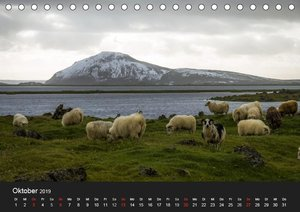 Island (Tischkalender 2019 DIN A5 quer)