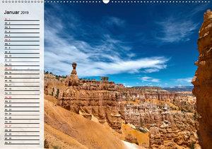 Naturlandschaften der USA. Der sagenhafte Südwesten (Wandkalende