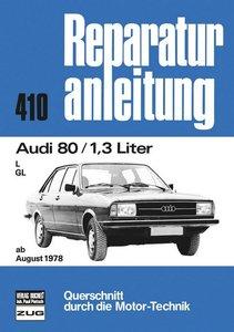 Audi 80, 1.3 l ab 08/1978