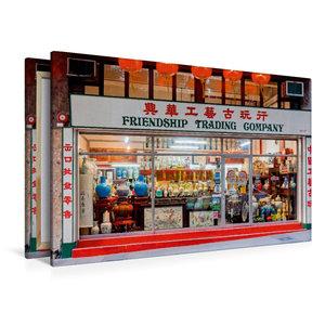 Premium Textil-Leinwand 120 cm x 80 cm quer Sheung Wan