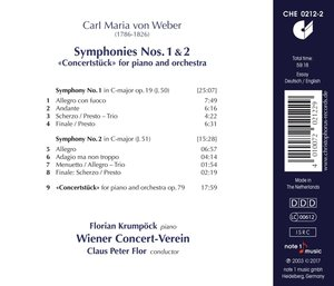 Sinfonien 1 & 2