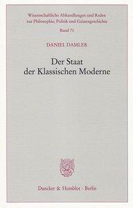Der Staat der Klassischen Moderne