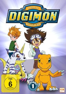 Digimon Adventure. Staffel.1.1, 3 DVD