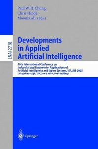 Developments in Applied Artificial Intelligence