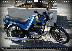 Motorrad-Legenden: JAWA (Wandkalender 2019 DIN A4 quer)
