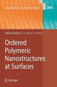 Ordered Polymeric Nanostructures at Surfaces