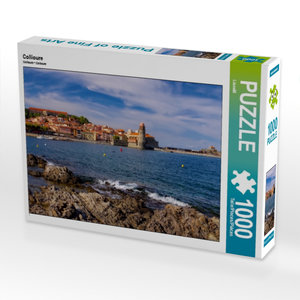 Collioure 1000 Teile Puzzle quer