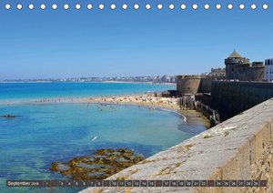 Saint Malo - Stadt der Korsaren (Tischkalender 2018 DIN A5 quer)