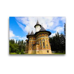 Premium Textil-Leinwand 45 cm x 30 cm quer Kloster Neamt