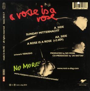 Sunday Mitternacht/A rose is - zum Schließen ins Bild klicken