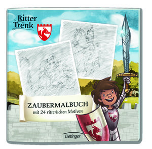 Ritter Trenk Zaubermalbuch